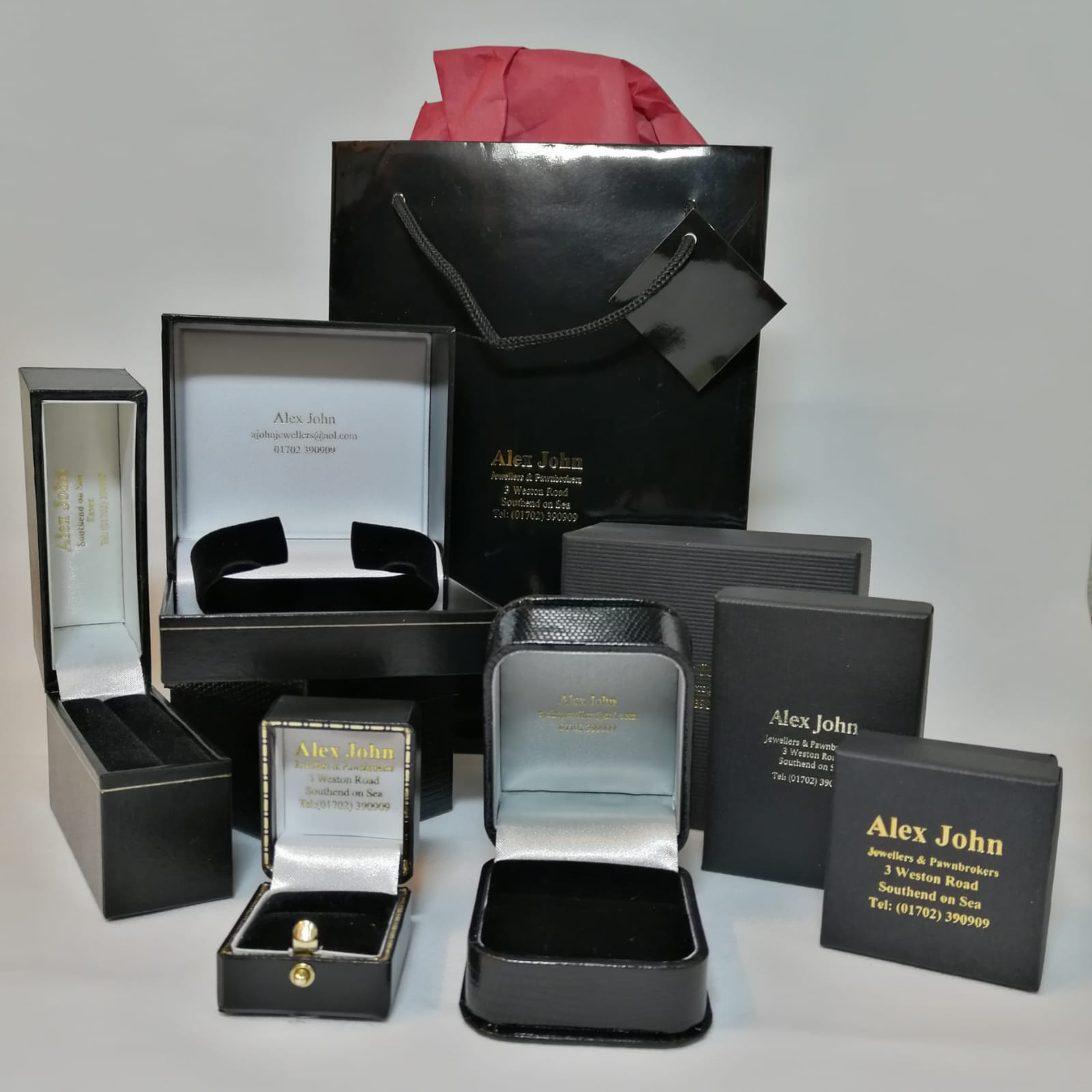 Alex John Jewellery Boxes